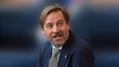 foto di Stefano Mei neopresidente della Fidal